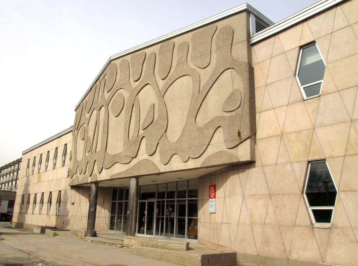 Bureau d art public ville de montréal non titré murale en