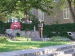 Monument à Jean Drapeau, Annick Bourgeau