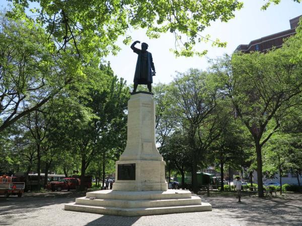 Monument à Giovanni Caboto, Guido Casini