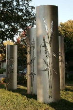 Les graminées du jardin Saint-Sulpice, Linda Covit