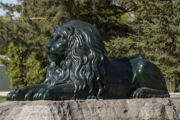 Le lion de La Feuillée, René Dardel