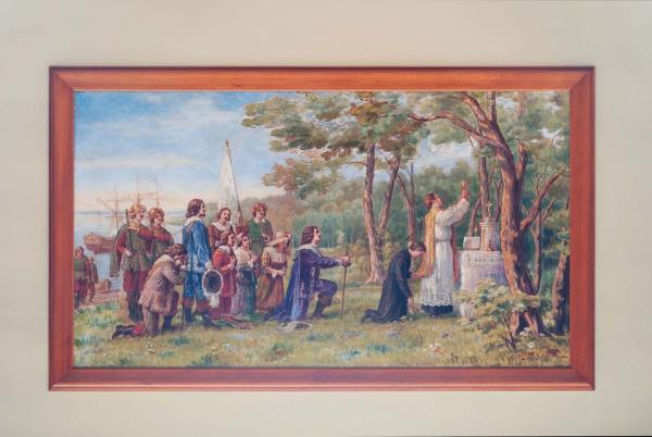 Maisonneuve fonde Montréal le 18 mai 1642, George Delfosse