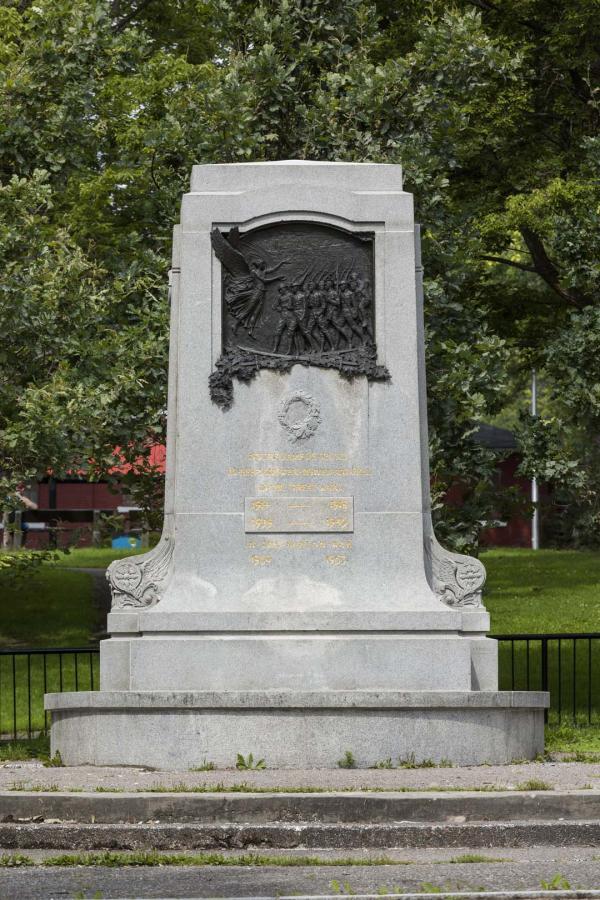 Monument aux braves de N.D.G., Peter David Edstrom