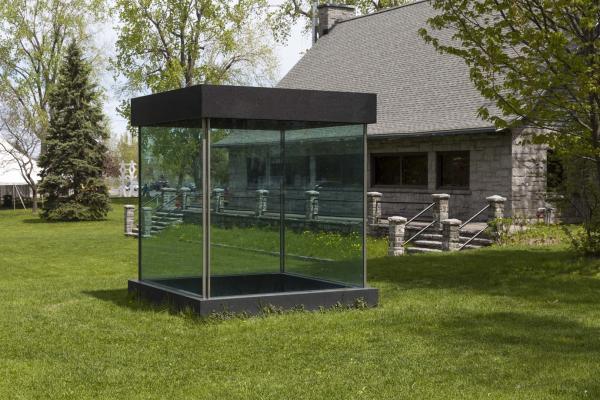 Espace cubique ou hommage à Malevitch, André Fournelle
