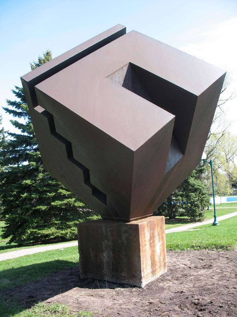 Cube géométrique, Benoit Galipeau