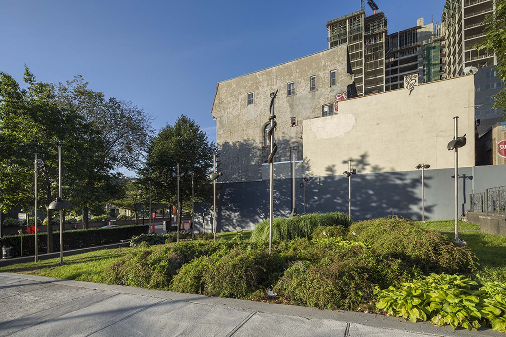 Bureau d 39 art public ville de montr al le jardin de lyon - Jardin ville de quebec perpignan ...