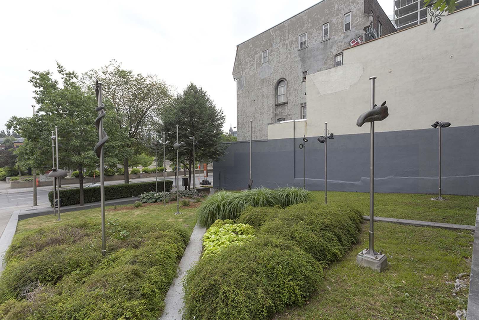 Bureau dart public ville de montréal le jardin de lyon