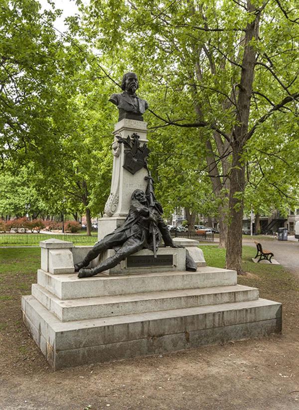 Monument à Louis-Octave Crémazie, Louis-Philippe Hébert