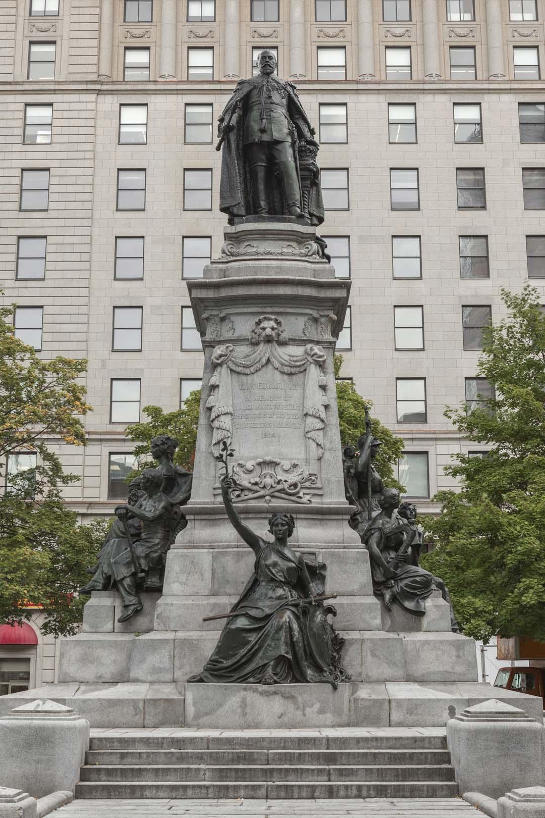 Monument à Édouard VII, Louis-Philippe Hébert