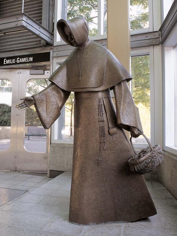 Monument à Émilie Gamelin, Raoul Hunter