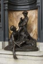 Les petits baigneurs, Alfred Laliberté