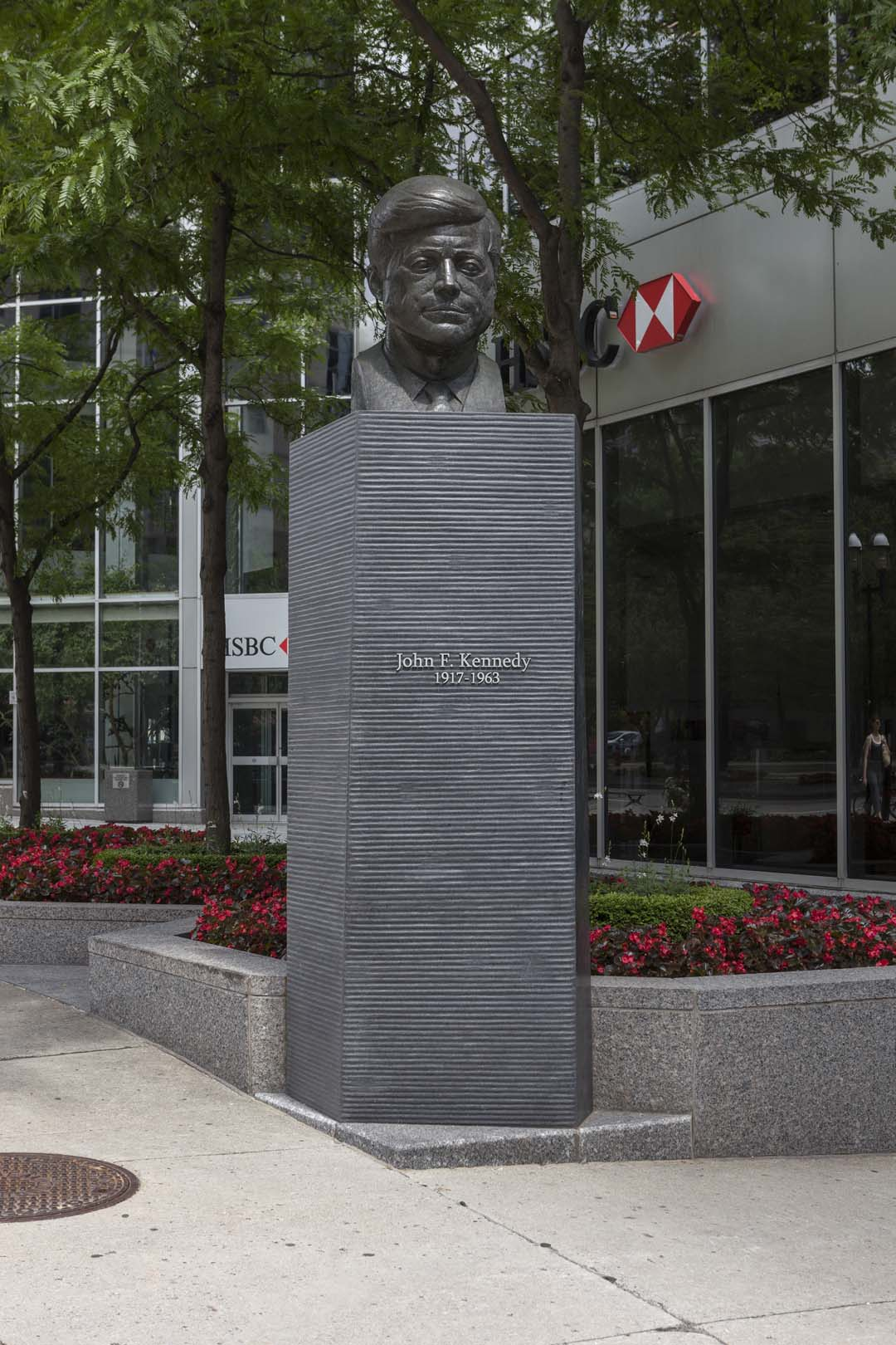 Monument à John F. Kennedy, Paul Lancz