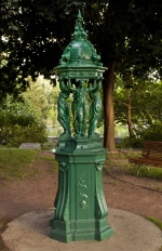 Fontaine Wallace, Charles-Auguste Lebourg