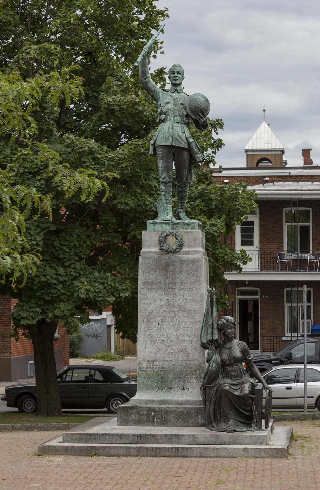 Monument aux braves de Verdun, Coeur de lion McCarthy