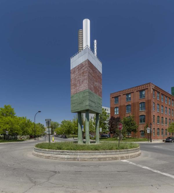 Monument à la Pointe, Gilles Mihalcean