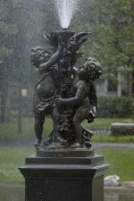 Non titré (Fontaine; Les chérubins), Mathurin Moreau