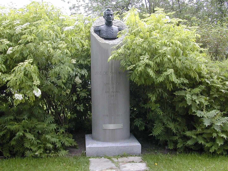Buste de José de San Martin, Carlos Maria Toto